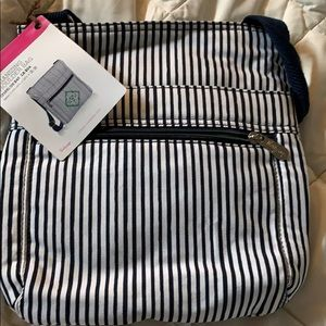 Purse organizer shoulder bag